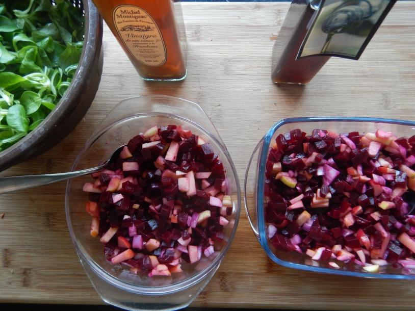 I tried raspberry and strawberry vinegar, go for strawberry!